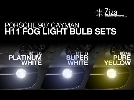 Ecs News Porsche Cayman Ziza H11 Fog Bulb Sets