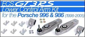ECS Porsche GT3 RS Control Arm Kits for 996 & 986