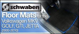 Volkswagen MKV Golf/GTI/Jetta Schwaben Floor Mats