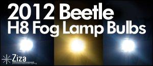 2012 Beetle H8 Bulbs