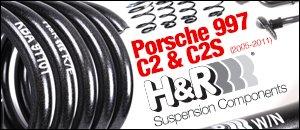 Porsche 997 C2 & C2S H&R Suspension Components