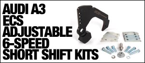 AUDI A3 ECS Short Shift Kits