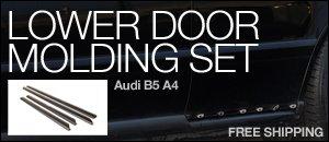 Audi B5 A4 Lower Door Molding Set