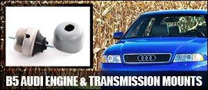 B5 Audi Engine & Transmission Mounts