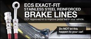 B5 Audi ECS Tuning Exact-Fit Brake Lines