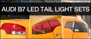 Audi B7 LED Tail lights From JOM
