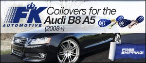 Audi B8 A5 FK Coilovers