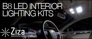 Audi B8 LED Interior Lighting Kits