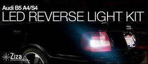 B5 Audi LED Reverse Light Kit