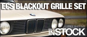 BMW E30 Blackout Grilles