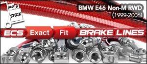 BMW E46 3-Series Non-M RWD Brake Lines