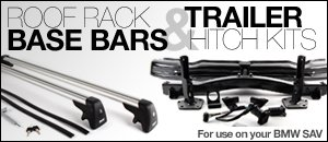 E83 Roof Racks, Hitches & Accessories