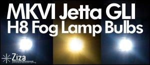 MKVI Jetta GLI H8 Bulbs