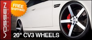 """Vossen CV3 Wheels - 20"""" Staggered Sets"""