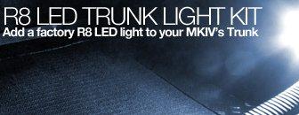VW MKIV R8 LED Trunk Light Retrofit Kit