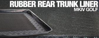 Volkswagen MKIV GTI Rubber Rear Trunk Liner