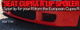VW MKIV R32 European Cupra R Lip Spolier
