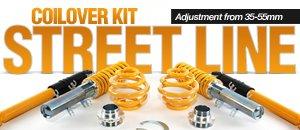 FK Street Line Coilover Kits - MKI TT / MKIV R32
