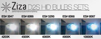 Ziza D2S HID Bulbs