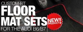 Audi B6 / B7 Schwaben Custom Fit Floor Mat Set