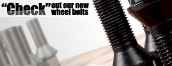 Black Conical Seat Wheel Bolts
