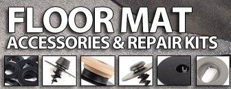 VW/Audi Floor Mat Accessories and Repairs Kit