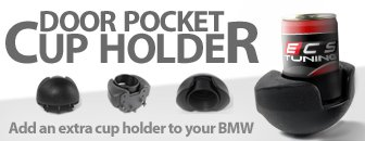Door Pocket Cup Holders - Add A Cupholder To Your BMW