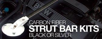 BMW E46 ECS Carbon Fiber Strut Bar Kit