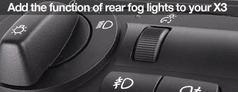 X3 European Headlight Switch